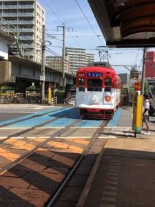長崎を路面電車でぶらぶら散歩