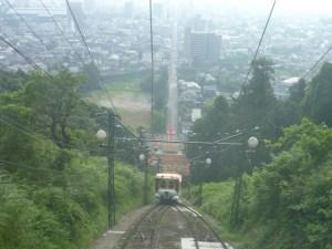 日本のケーブルカー14:別府ラクテンチ