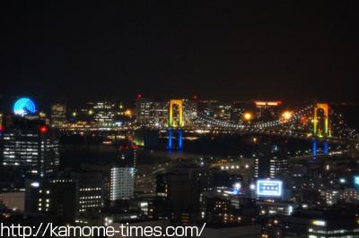東京タワーから見た夜景