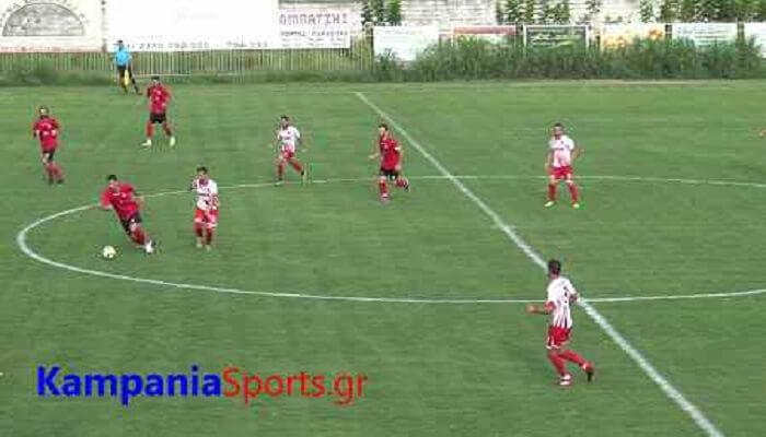 Καμπανιακός-Ολυμπιακός Κυμίνων 0-0