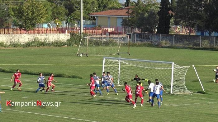 ΑΠΕ Λαγκαδά-Καμπανιακός 0-2
