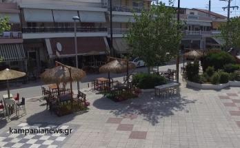 Χαλάστρα αλλάζει η εικόνα στην Πλατεία