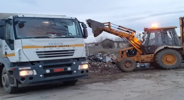 Εξόρμηση καθαριότητας από τον Δήμο Δ'λτα