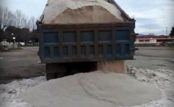 Με αλάτι ολα τα διαμερίσματα του Δήμου Δέλτα
