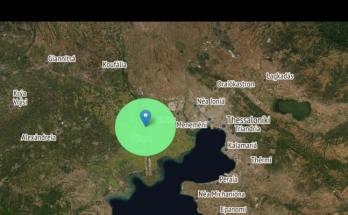 Σεισμός στην Χαλάστρα