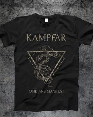 Kampfar - Ofidians Manifest (T-Shirt) | Official Kampfar Merchandise Webshop Webstore Onlineshop