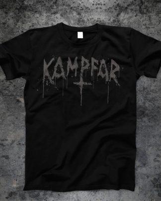 Kampfar - Splatter Logo (T-Shirt) | Official Kampfar Merchandise Webshop Webstore Onlineshop