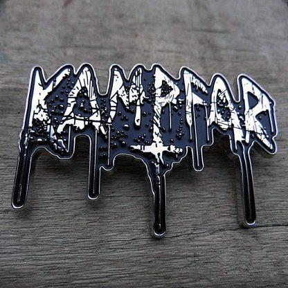 Kampfar - Splatter Logo (Metal Pin) | Official Kampfar Merchandise Webshop Webstore Onlineshop