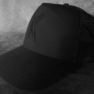 Kampfar - K (Trucker Cap) | Official Kampfar Merchandise Webshop Webstore Onlineshop