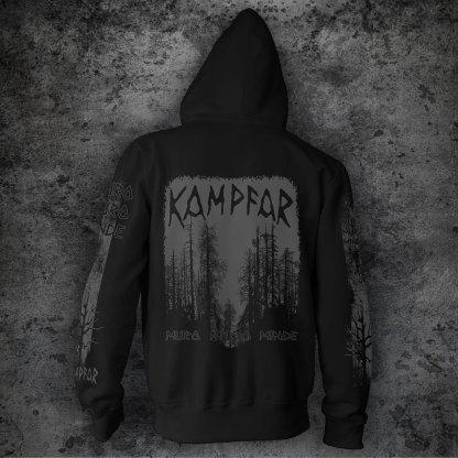 Kampfar - muro muro minde (Zipper) | Official Kampfar Merchandise Webshop Webstore Onlineshop