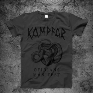 Kampfar - Ofidians Manifest / northern alliance tour 2020 (T-Shirt)