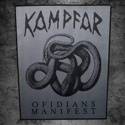 Kampfar_Ofidians-Manifest-Backpatch-Rueckenaufnaeher
