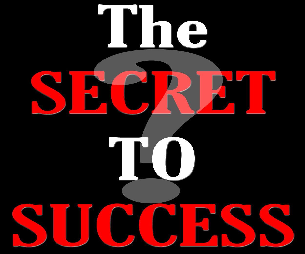 SECRET TO SUCCESS; SELF-ESTEEM