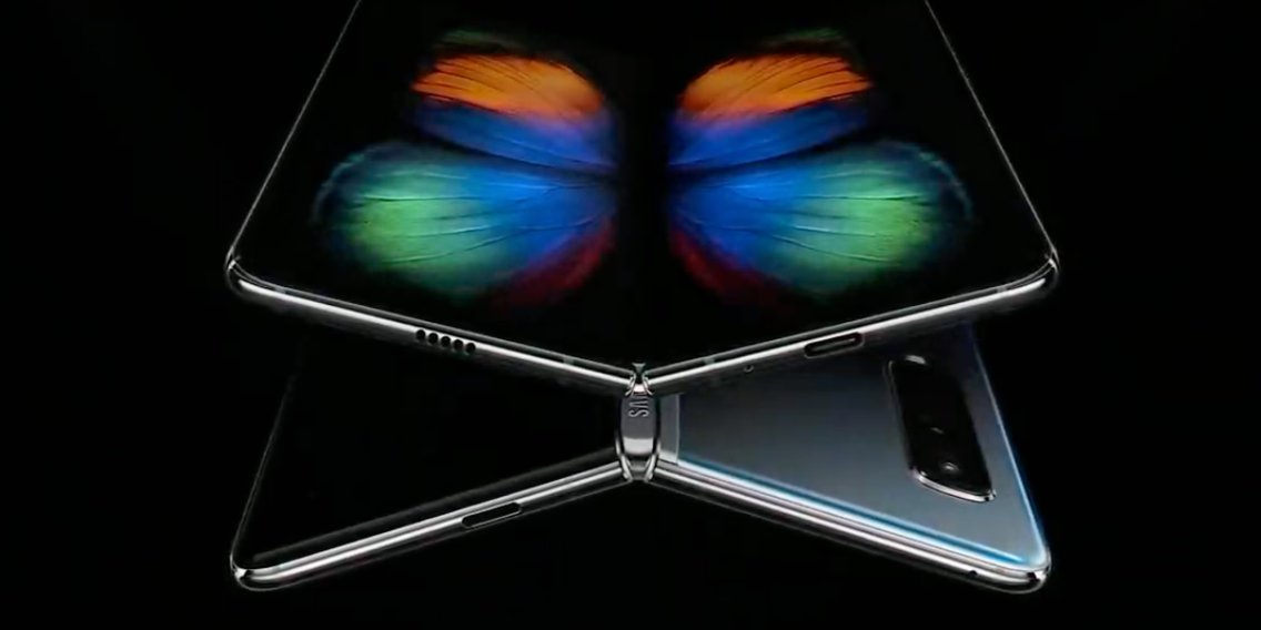Samsung Unveil Its Foldable Phone — The Galaxy Fold