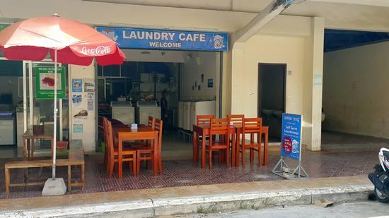 Laundry Cafe In Kampot Cambodia