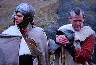 Воїни германського племені англів