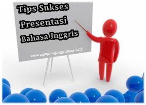 tips presentasi bahasa inggris