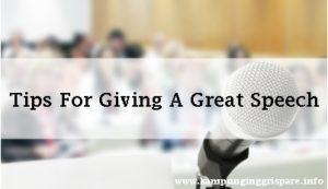 tips sukses pidato bahasa inggris