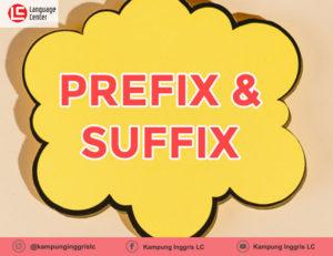 prefix dan suffix