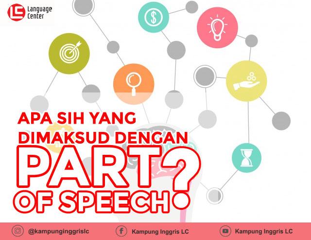 pengertian part of speech