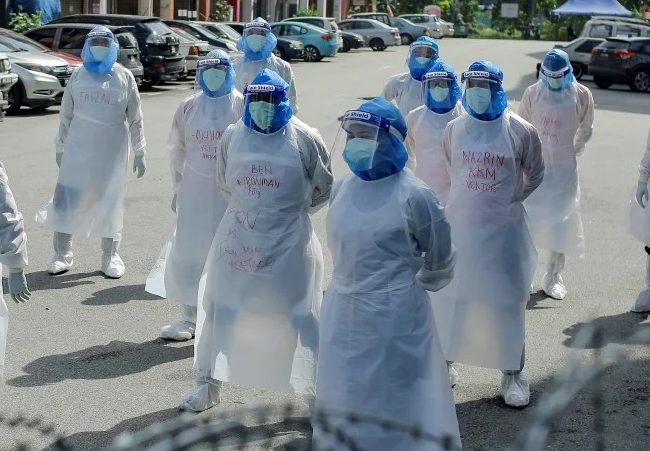 734 kakitangan kesihatan di Sabah dijangkiti Covid-19