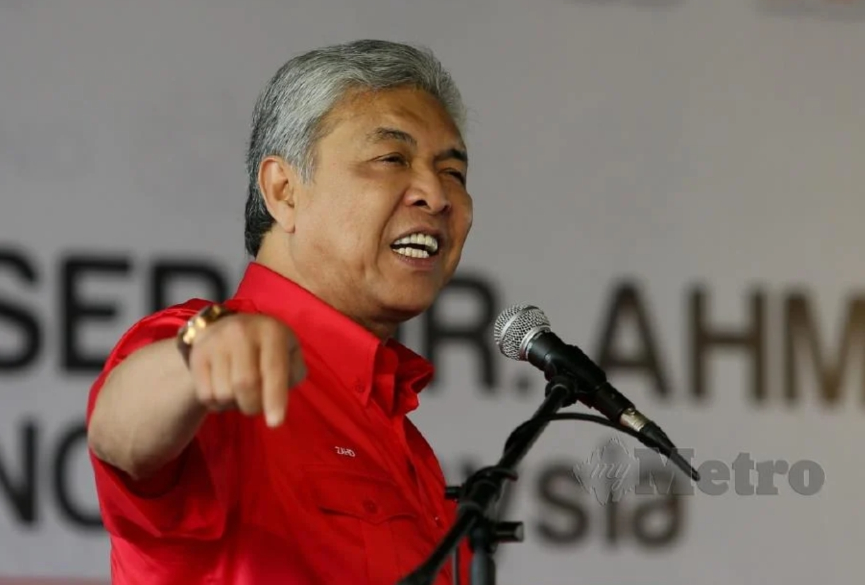 UMNO akan muktamadkan tindakan – Ahmad Zahid