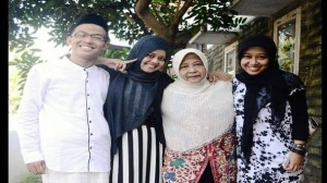 Ahmad Agung Masykuri Bersama Keluarga