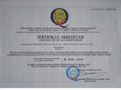Akreditasi Prodi Pendidikan Ners