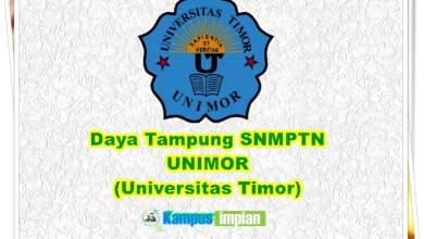 Photo of Daya Tampung SNMPTN UNIMOR 2020/2021 (Universitas Timor)