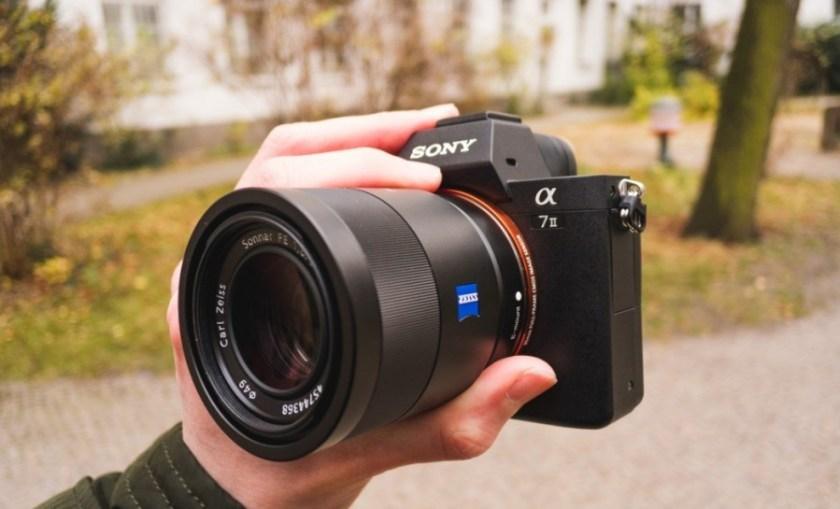 Kamera Vlogger Sony Alpha A7