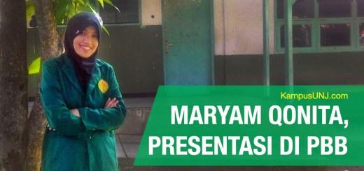 Maryam Qonita: Mahasiswi UNJ yang mewakili Indonesia di PBB.