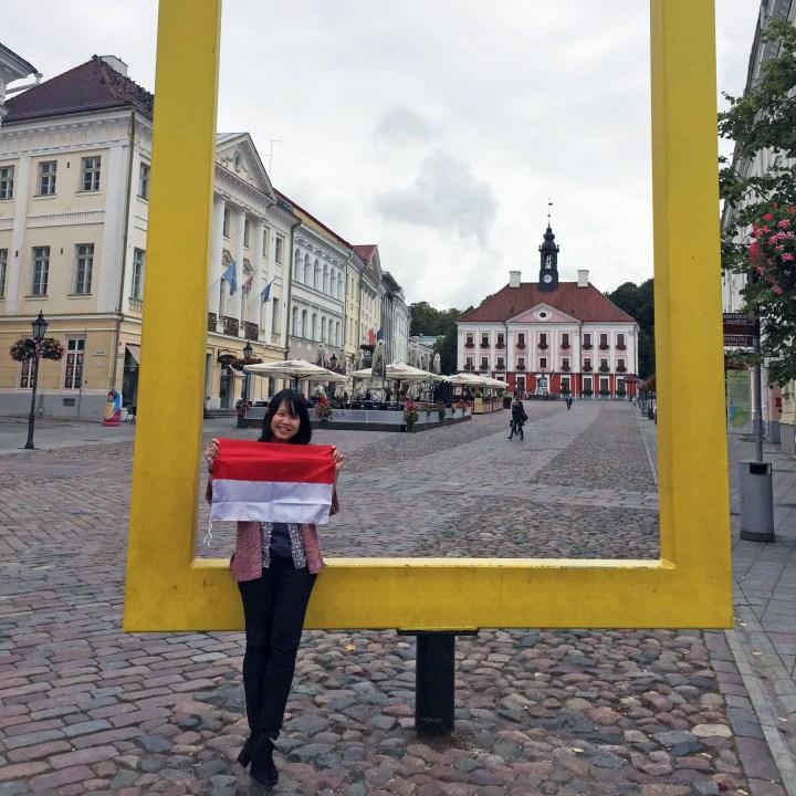 Radita Liem kuliah di Universitas Tartu