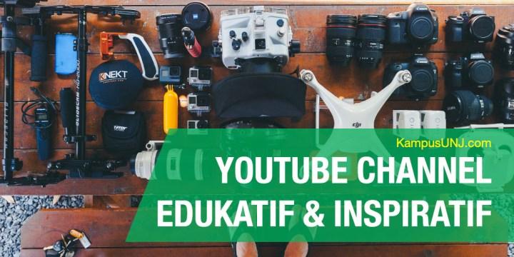 Youtube Channel Edukatif di Indonesia & Luar Negeri