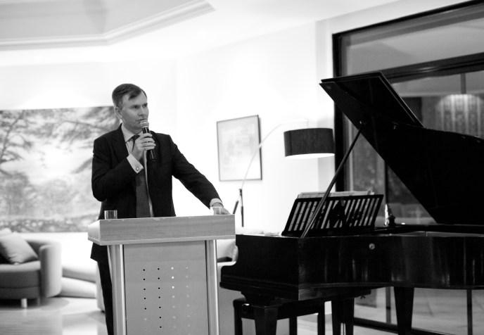 HE Hugo Shorter addressing local and regional matters- Feb 2016