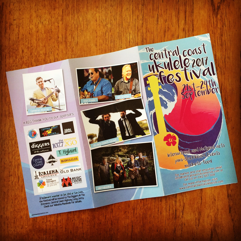 FESTIVAL PASS: CENTRAL COAST UKULELE FESTIVAL, AUSTRALIA