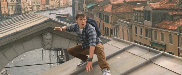 Tom Holland di Spider-Man Far From Home