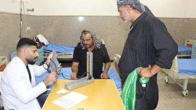 Photo of (54) الف مراجع للمستشفيات والمفارز الطبية في كربلاء خلال اليومين الاولين لزيارة الاربعين