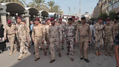 Photo of رئيس اركان الجيش الفريق الركن عثمان الغانمي يزور كربلاء للاشراف على خطة الاربعينية