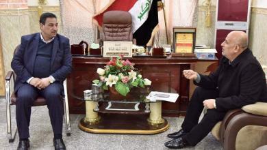 Photo of رئيس لجنة الهجرة والمهجرين في كربلاء يلتقي بمدير الشباب والرياضة