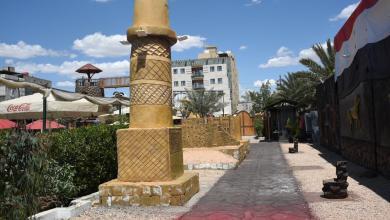 Photo of كربلائي يُشيّد مجموعة من النصب لبعض حضارات العراق
