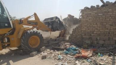 Photo of مديرية بلدية كربلاء تستمر بحملاتها لازالة العشوائيات