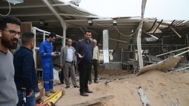 Photo of سقوط اربع صواريخ على مطار كربلاء الدولي ونائب المحافظ علي الميالي يطالب بتحقيق دولي بالحادث.