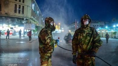 Photo of بالصور/ حملة تطهير واسعة يقوم بها الدفاع المدني وسط مدينة كربلاء