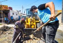 Photo of حملة تطوعية لتنظيف الاحياء الشعبية في كربلاء تزامنا مع عيد الغدير الاغر…