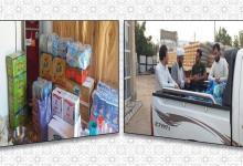 Photo of توزيع كسوة العيد على أكثر من (500) يتيم وسلال غذائية للمتعففين