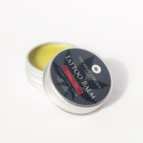 CBD tattoo balm