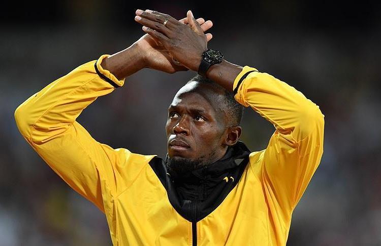 Bolt, Borussia Dortmund ile antrenmana çıktı