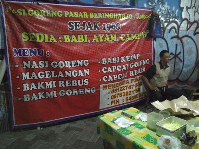 Nasi Goreng Beringharjo Perpaduan Kuliner Cina dan Jawa