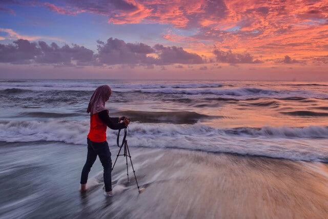 Pantai Trisik Tempat Hidup Satwa Langka di Kulon Progo