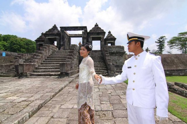 prewedding istana ratu boko